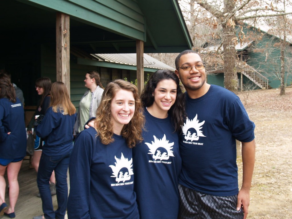 students at the 2014 New College Retreat