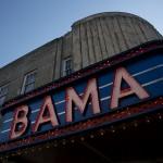 Bama Theatre sign