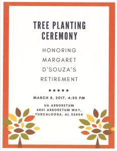 Tree Planting Ceremony poster