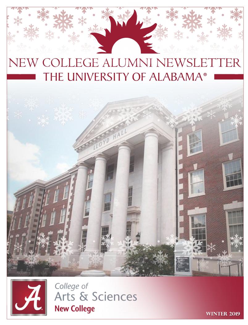 December 2019 Newsletter