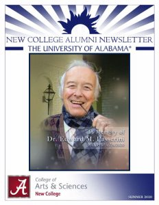 New College Summer 2020 Newsletter Cover